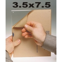 "3.5 x 7.5"" Acrylic - Item #M5XTK"