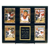 5 Card Deluxe Plaque Kit  - Holds 5 Cards & 5 Lines of Free Engraving