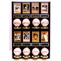 8 Ball & 8 Card Fully Assembled Plaque