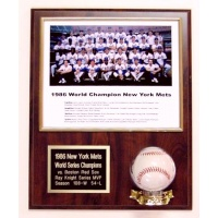 Photo & Baseball Plaque  for Horizontal 8x10