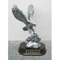 "7"" Eagle Award on rock  #BPEA7"