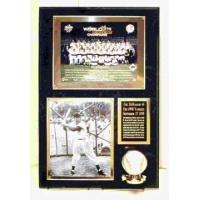 2 Photo & Baseball Plaque Kit