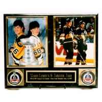 2 Photo & 2 Puck Display Plaque - Item #MRP4