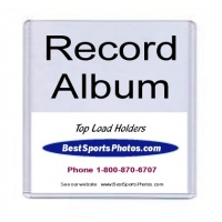 13x13 Record Album Top Loaders - Pack Of 5